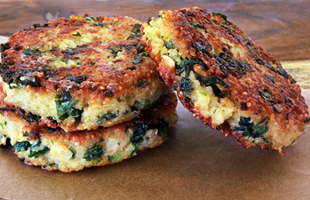 Kale Quinoa Patties - Nutrient-Rich Protein