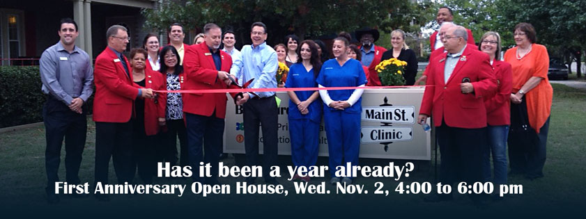 MainStreet Clinic Anniversary Open House